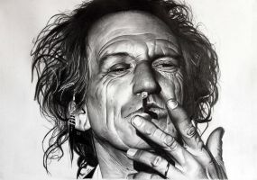 Keith Richards by donchild