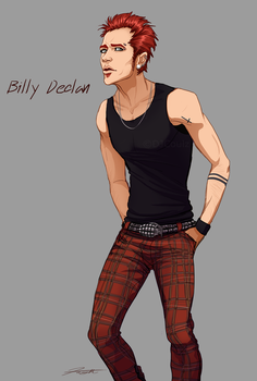 Billy Declan by DJCoulz