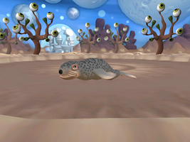 Spore: Baby Seal by Pyroraptor42