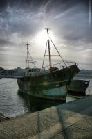 Old Shipyard by doulifee