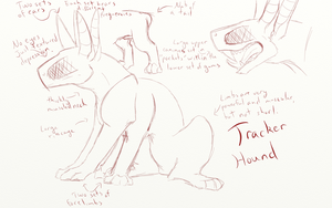 Tracker Hound (Open Species) by TwilightRacer