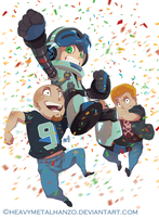 Mighty No9-Goal Reached! by HeavyMetalHanzo