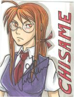 Autographed Chisame Badge by Hellsender