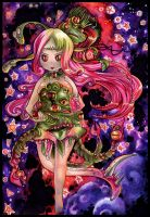 Watermelon Monster Girl by Ayuyowsky