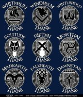 .Skyrim Emblems. by x-Alexiel-x