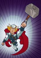 The Mighty Thor by gelipe
