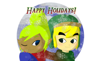 Happy Holidays 2010 by Icy-Snowflakes