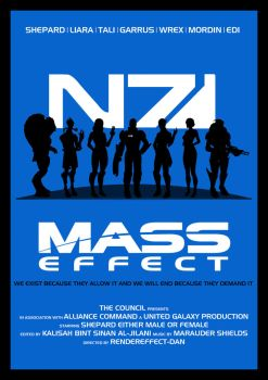 Mass Effect: The Movie Poster by RenderEffect-Dan