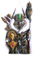 Wisdom Knight of the Crowned Owl by NeoNooS
