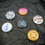 Anime lover 1-inch buttons by eitanya