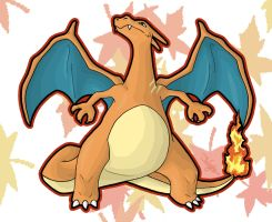After Burner - Little? Charizard by haha-tommy
