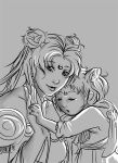 Serenity and Chibiusa by meshya