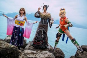 Yuna, Lulu and Rikku by Harker-Cosplay