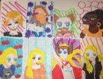 Favorite Females V: Marker Mamas by Chibifangirl01