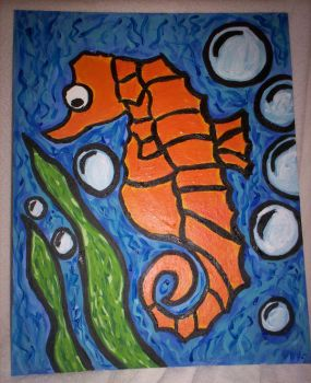 Seahorse by Anabell