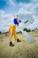 Makina's strenght by Winkie-Cosplay
