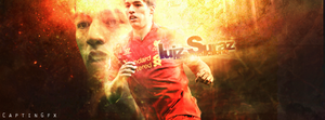 Luis Suarez by CaPtiNGfx