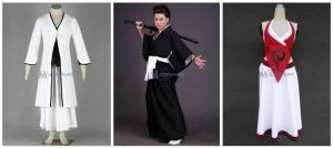 Cool Bleach cosplay costumes by Mcosplay