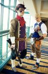 Steampunk: Kingdom Hearts by TemaTime