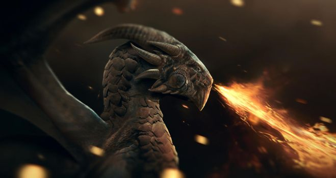 Magma Wyrm by tobylewin