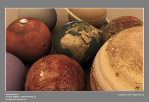 Planets of the solar system by hashem3d