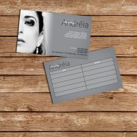 Salao Andreia  Business card by DougAzevedo