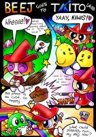 Beej goes to Taito land Part 1 by slycherrychunks