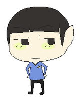 wee spock by ShortieFish