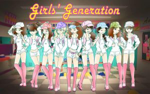 Girls' Generation OH! by Pulimcartoon