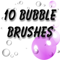 10 Bubble Brushes by LookCrazy