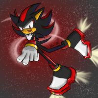 SP: Shadow the Hedgehog by Hathor-the-Queen