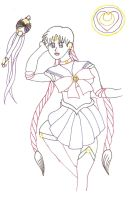 MSS Sailor Moon Lineout by leopup13