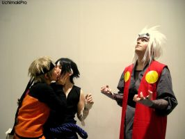 Yaoi reactions series: Jiraiya by uchimakiPro