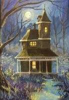 ACEO Moonlight Charm by annieoakley64