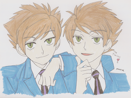 the twins by NightmareSwagg