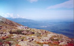 Lakes of the Clouds Hut, Mt. Washington, NH by sixgun-fighter