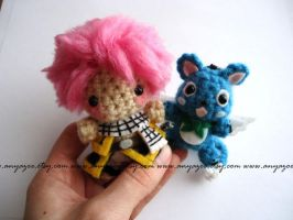Fairy Tail Amigurumi by AnyaZoe