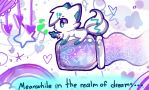 Meanwhile in the realm of dreams... by pokemon-wolf