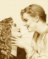 Jack and Rose : sepia by MayumiOgihara