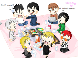 The Death Note Picnic! by Puffypaw