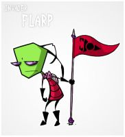 Invader Flarp by Lizard-of-Odd