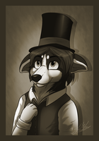 .:GA:. Classy Gentleman~ by ScottishRedWolf
