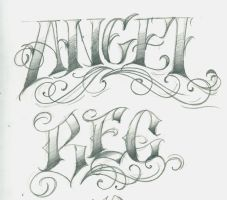 Angel and Beg by 12KathyLees12