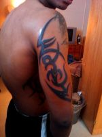 Tribal Tattoo Coleman by NarcissusTattoos