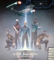 crew of the uss expedition by digikevin10