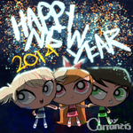 HAPPY (late) NEW YEAR by Carranzis