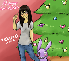 Merry Christmas 2014 by atlas-rabbit