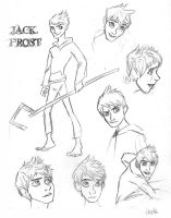 Jack Frost Sketch Dump by AriellaMay