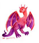 Monster a Day Challenge - Wyvern by TopperHay