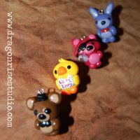 Five Nights at Freddy's Charms! by DragonSpirit469